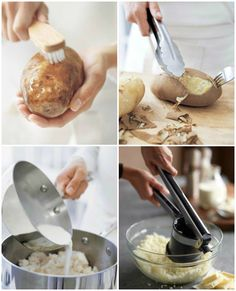 It's easy to master your mashed potatoes! We're sharing a basic recipe and a step-by-step guide to perfect mashed potatoes. Cooking Ideas, Food Ideas, Perfect Mashed Potatoes, Food Basics, Healthy Potatoes, Thanksgiving Treats, Christmas Cooking, Homemade Food, Williams Sonoma