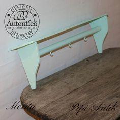 Menta hylde, mintgrøn, Autentico kalkmaling