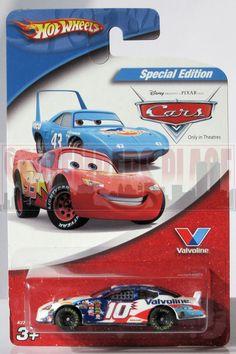 2006 Hot Wheels Special Edition Disney Pixar Cars Valvoline # 10 Scott Riggs