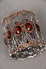Brown empress bracelet Buy it here:http://www.sassnfrass.net/#Lorissaleigh