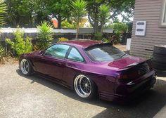 #Nissan #Silvia_S14 #Kouki #Zenki #WideBody #200sx #240sx #Slammed #Stance #JDM #Modified