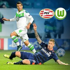 """""""MATCHDAY! From which country will you watch #PSVWOB today? #vflwolfsburg #immernurdu #UCL"""""""