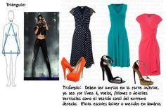 vestidos para figura triangulo