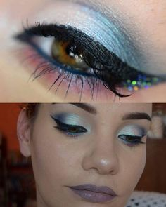 Yesterdays #EOTD ! Using @darlinggirlcosmetics ! Bubbles on inner half of lid.&inner corner  Kraken on outer half of lids and in crease  Will-O-the-Wisps spectral shift on lower lash line Liquid Stardust in Interstellar Cupcake over top Will-o-the-wisps  Teddy Bare Pucker Paint on the lips Glitter under the wing is Ignite the Night by #starcrushedminerals 🐨🐨🐨🐨🐨🐨🐨🐨🐨🐨🐨🐨🐨 #Darlinggirlcosmetics #darlinggirl #multichrome #duochrome #motd #LOTD #FOTD #liquidmattelipstick…