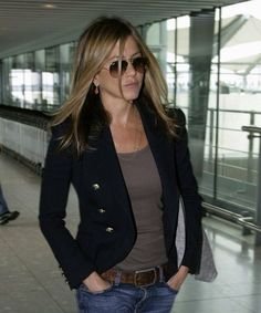 jennifer-aniston    Balmain Blazer ... took me 18 months to track one down