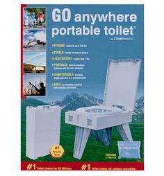 GO Anywhere Toilet @ Campmor.com