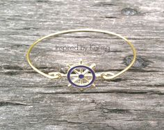 Ships Wheel Bangle Bracelet - $14.99 - Handmade Jewelry, Crafts and Unique Gifts by Inspired by Karma
