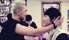 """If I kiss you, I'll get germs on your lips."" - fluff yaoi baekho nuest minhyun baekmin - Baekho, Minhyun, JR, Aron and Ren - Asianfanfics"