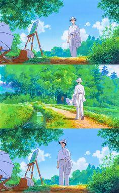 Studio Ghibli Art, Studio Ghibli Movies, Studio Ghibli Background, Wind Rises, Anime Scenery Wallpaper, Cute Backgrounds, Hayao Miyazaki, Environmental Art, Otaku Anime