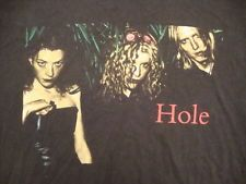 Vintage Hole 90's courtney love nirvana l7 riot girl concert tour T Shirt L