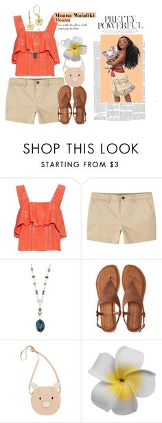 """Moana Waialiki - Moana"" by melodystarlight ❤ liked on Polyvore featuring ace & jig, MANGO, Charming Life, Aéropostale, Donsje, Kevin Jewelers, disneybound and moana"