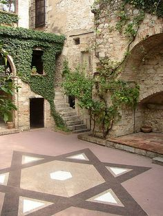 """Isaac el cec"" museo judío de Girona."