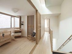 Mjölk House by Studio Junction .. sliding panels