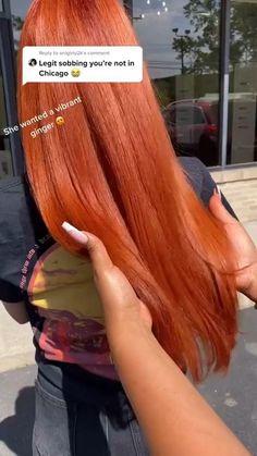 Dyed Curly Hair, Colored Curly Hair, Curly Hair Styles, Natural Hair Styles, Pressed Natural Hair, Dyed Natural Hair, Natural Hair Silk Press, Ginger Hair Color, Hair Color For Black Hair