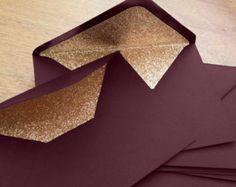 Dove Grey and Rose Gold Glitter Lined Wedding by TreasureStudiosUK