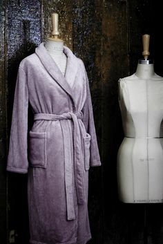 There is nothing more heavenly than shrugging off the day's worries and wrapping up in the comfort of a soft mink fleece gown. #AddWarmth
