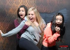 Fear Pic Takeaway: If your on the ends it's scary as hell!!! BUT if you hang in the middle it's good times!!! Nightmares Fear Factory, sometimes FEAR is FUNNY! www.NightmaresFearFactory.com