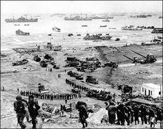 D-day invasion, success!