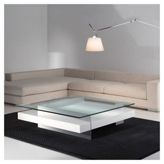 Ketel Coffee table by Kendo Mobiliario Muebles Home, Muebles Living, Center Table Living Room, Living Room Decor, Table Furniture, Furniture Design, Style Salon, Contemporary Coffee Table, Kendo