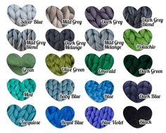 Chunky Wolle Garn für Arm stricken 100 % 23 von NataHomeandFashion