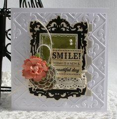 Beautiful classy card by Danni