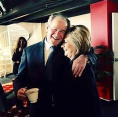 Bin Ladens were having lunch with the Bushes the day before 9/11 http://wakeup-world.com/2015/08/22/everything-is-fake-top-40-pieces-of-fakery-in-our-world/