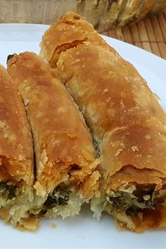 Spanakopita, Bruschetta, Donuts, Tart, Mac And Cheese, Food And Drink, Bread, Cooking, Ethnic Recipes