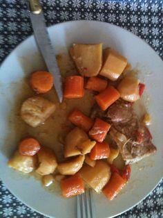filet mignon au miel en cocotte et ses légumes (by mon chéri)