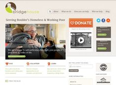 Non-Profit Homeless Outreach Website built by us with Wordpress