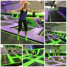 Jumping at Jumptastic, Gloucester - Mum of Three World