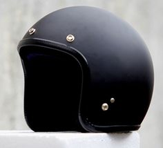 Masei 610 Matte Black Open Face Motorcycle Helmet for Harley Davidson Bikers