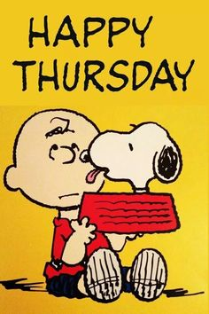 Happy Thursday quotes quote charlie brown snoopy days of the week thursday thursday quotes happy thursday