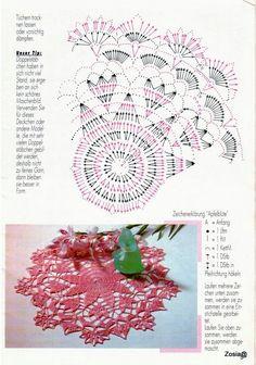 Serwetki okragle z netu - Mirka Bień - Picasa Web Albums by alissa Free Crochet Doily Patterns, Crochet Doily Diagram, Crochet Chart, Love Crochet, Crochet Dollies, Crochet Buttons, Thread Crochet, Flower Crafts, Doilies