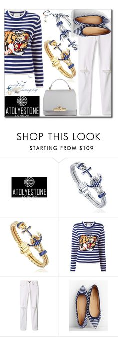 """""""Atolyestone 14/ 30"""" by esma178 ❤ liked on Polyvore featuring Gucci, Rebecca Minkoff, Talbots and atolyestone"""