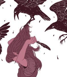 """La realidad, tan descabellada, lleno de cuervos que gritan mis deseos hacia el sufrimiento e injusticias: """"¡Nunca mas!"""""""