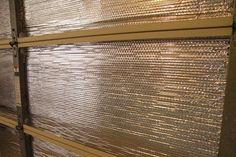 How to insulate a garage door.