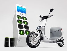 Gogoro launches electric scooter sharing in Berlin - teams up with Bosch's Coup | Inhabitat - Green Design, Innovation, Architecture, Green Building
