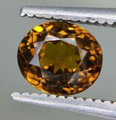 1.16 Crt GIL Certified Andradite Grossular Garnet (Mali) Loose Gemstones, Garnet, Christmas Bulbs, Rocks, Auction, My Favorite Things, Holiday Decor, Products, Stones