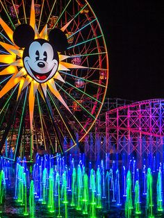 World of Color | Disney California Adventure (Explored)