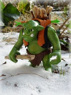 Der Winter ist lang in den Bergen und auch Trolle wollen nicht frieren. Playmobil