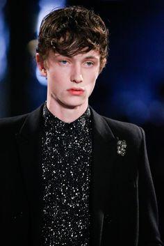 Saint Laurent Fall 2015 Menswear - Details - Gallery - Style.com