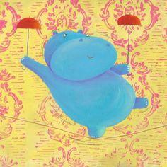 Barbara Vagnozzi - Dancing Hippo