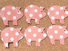 I have a pig magnet on my fridge for every stock show my son showed an animal in, lol :)