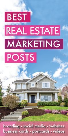 Best Real Estate Marketing Posts - You made it! You found all my best Real Estate Marketing articles, resources and blog posts! Covering such topics as real estate agent websites, social media, business cards, SEO branding, collateral and more!