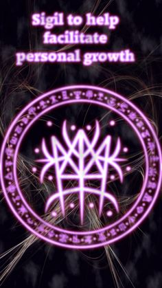 Sigil to help facilitate personal growth