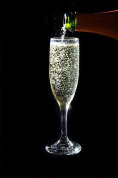 Brut Champagne at Zebra Restaurant. Photo by Diedra Laird.