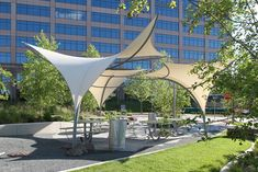 Tensile shade structure ?
