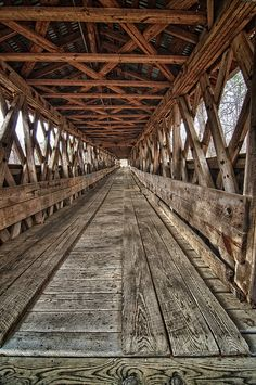 Clarkson Covered Bridge in Cullman by jackdeblanc, via Flickr