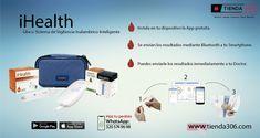 Smart Gluco Sistema de Monitoreo  ¡Rápido, preciso y compacto! Tiene muchas funcionalidades como ver las tendencias de glucosa a lo largo del tiempo, establecer recordatorios de prueba y medicación, cuenta de servicio de nube gratuita de iHealth, te mantiene conectado con la aplicación móvil gratuita  Da click aquí y te redireccionara fácilmente a nuestra página: http://bit.ly/2qsBNWn