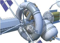 Nautilus-X, Space Exploration Vehicle, Space Future, NASA, Deep Space Missions, future space station, spaceship